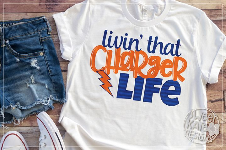 Livin That Charger Life SVG DXF EPS PNG JPG