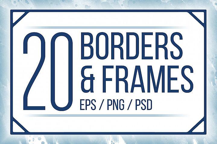 Borders & Frames Bundle