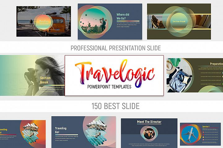 Travelogic Powerpoint Templates