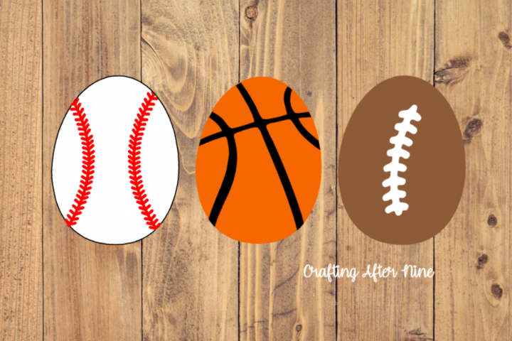 Sports Easter Egg Svg, Soccer Svg, Football Svg, Baseball