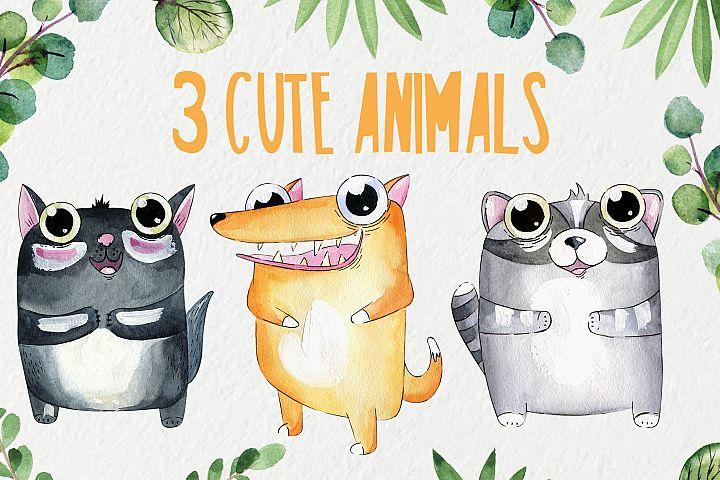 3 Cute animals