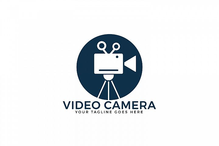 Video Camera Logo Design.
