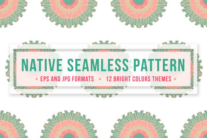 Native Seamless Pattern