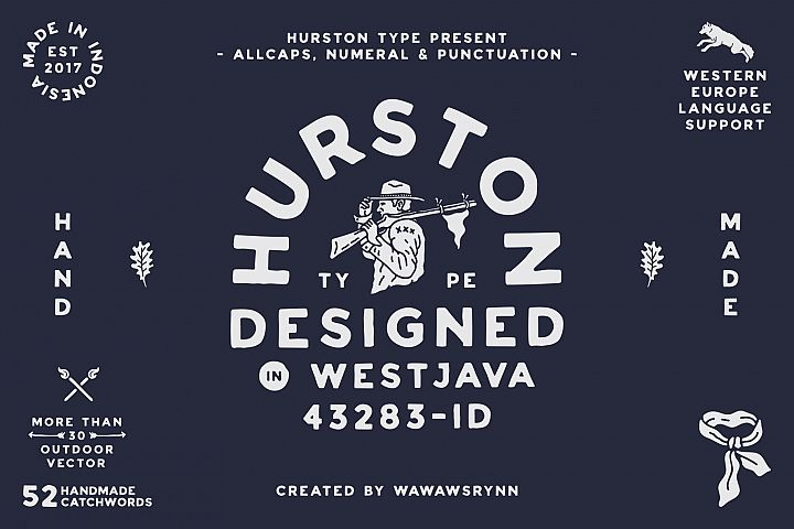 HURSTON TYPE example image 1