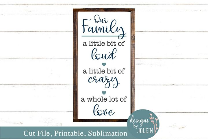 Our Family SVG, png, eps, sublimation, printable