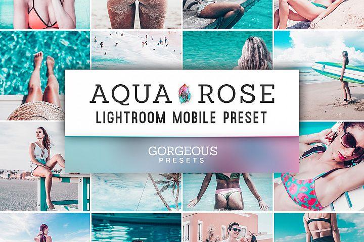 Mobile Lightroom Preset AQUA ROSE