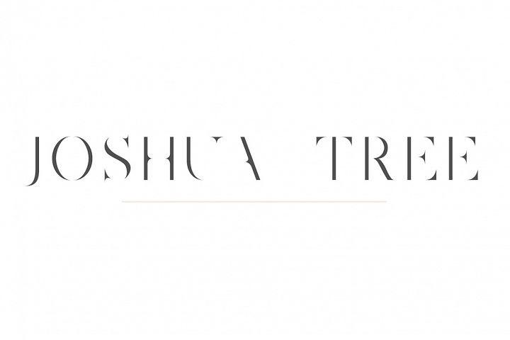 Joshua Tree | A Gorgeous Serif