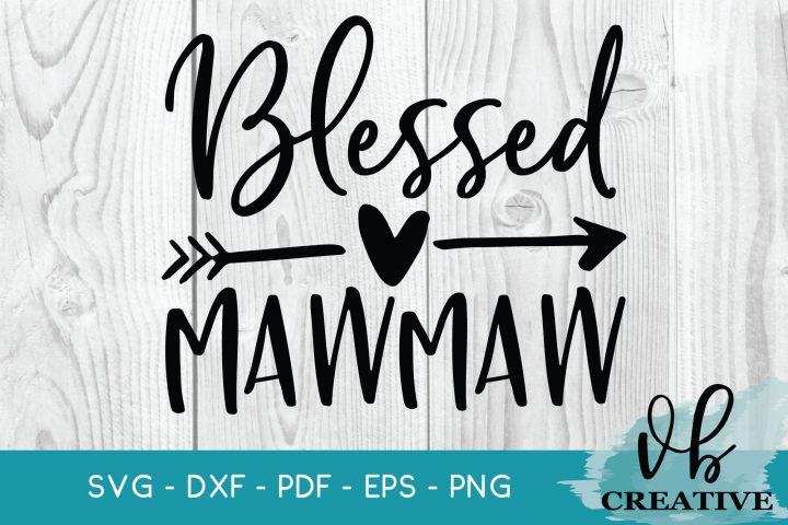 Blessed MawMaw Svg