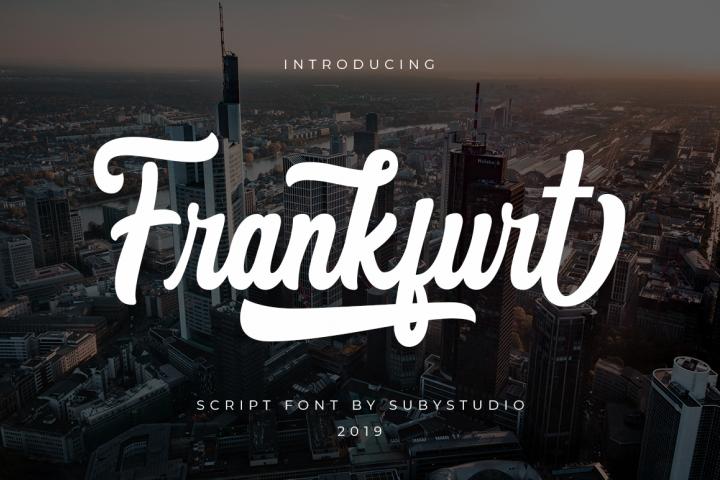 Frankfurt Script Font