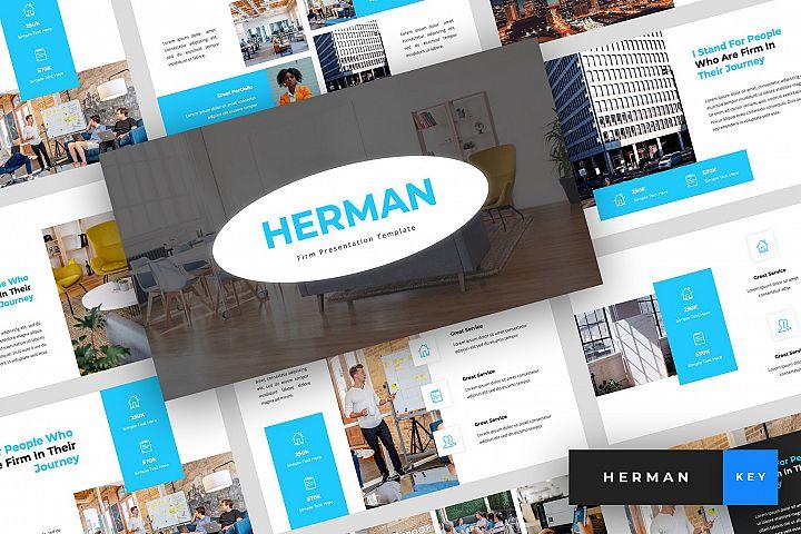 Herman - Firm Keynote Template