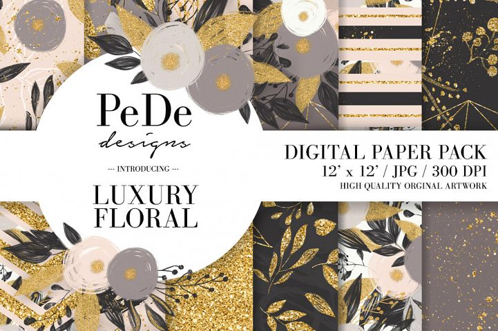 Luxury Floral Backgrounds
