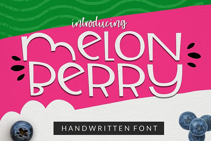 Melonberry | Smooth Handwritten Sans