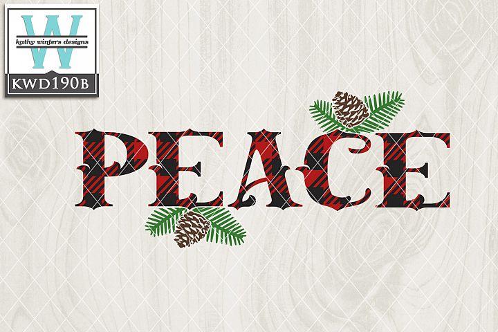 Christmas SVG - Peace