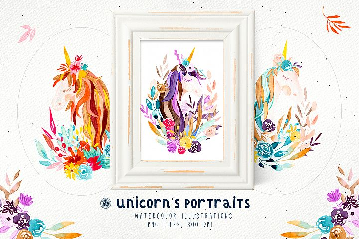 Unicorns Portraits