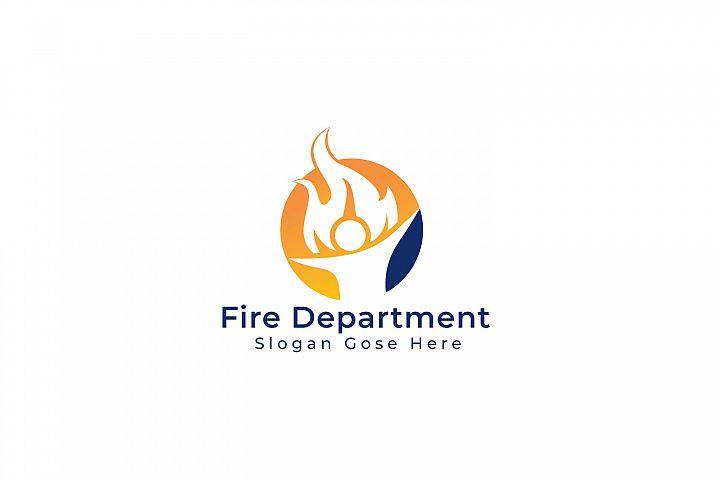 Fire Department Logo Design.