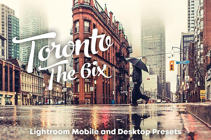 Toronto - The 6ix Lightroom mobile and desktop Presets