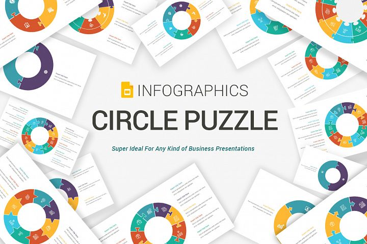 Circle Puzzle PowerPoint Diagrams