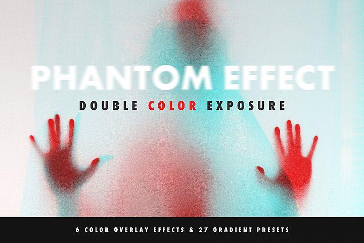 Double Color Exposure Effect