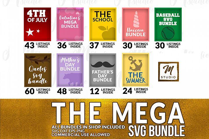 The Mega SVG Bundle