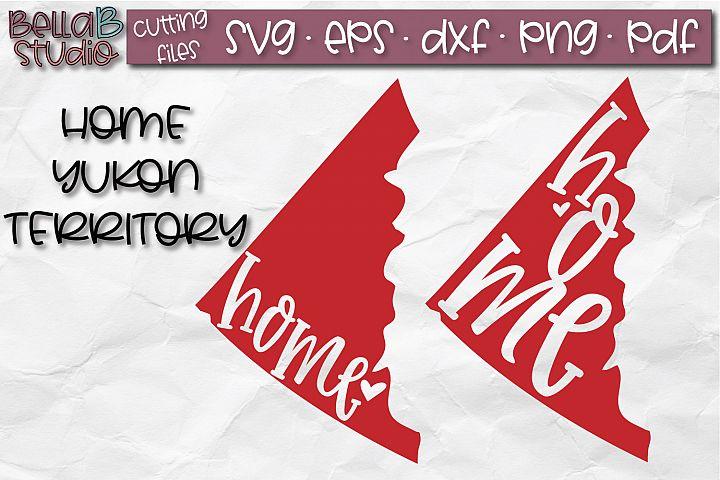 Yukon Home Territory SVG, Canada SVG, Canadian SVG