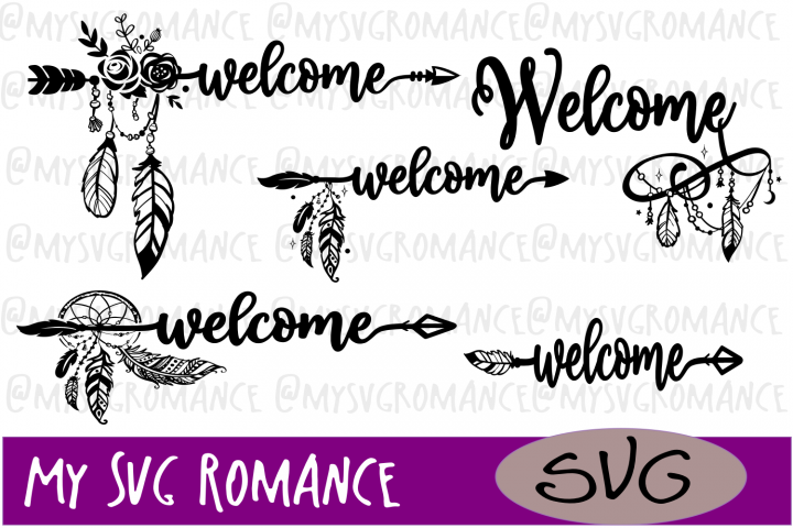 Welcome Arrows & Dream Catchers Mini Bundle SVG - Challenge