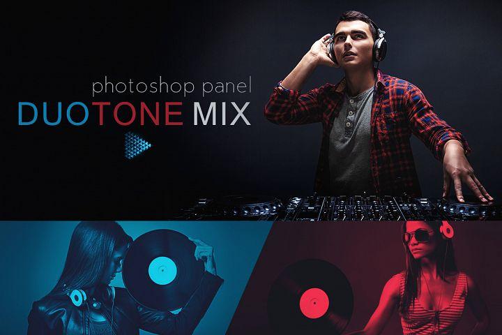 DuoTone Mix Panel