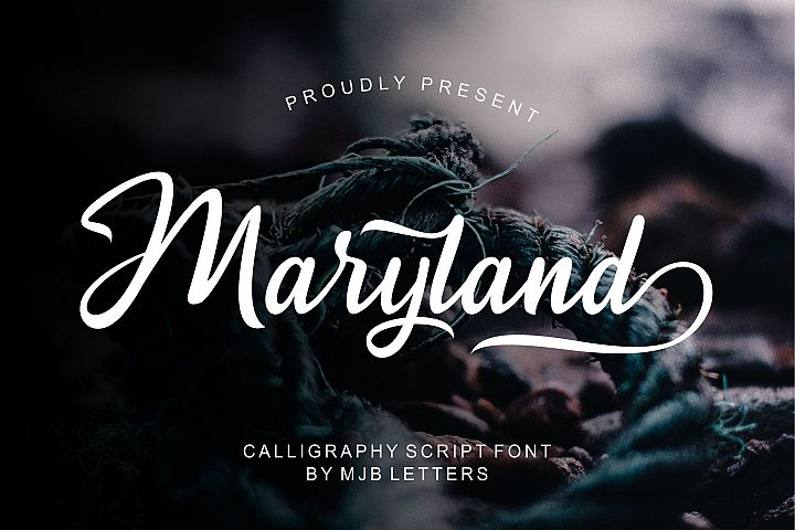 Maryland Calligraphy Script