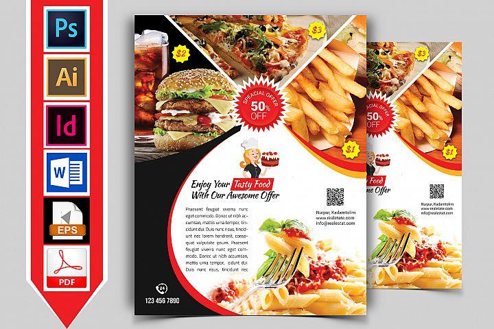 Restaurant Flyer. Vol-01