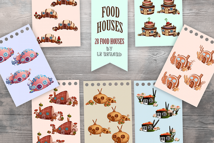 Food Houses Pack