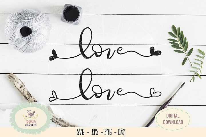 Love heart SVG PNG wedding anniversary valentine bundles