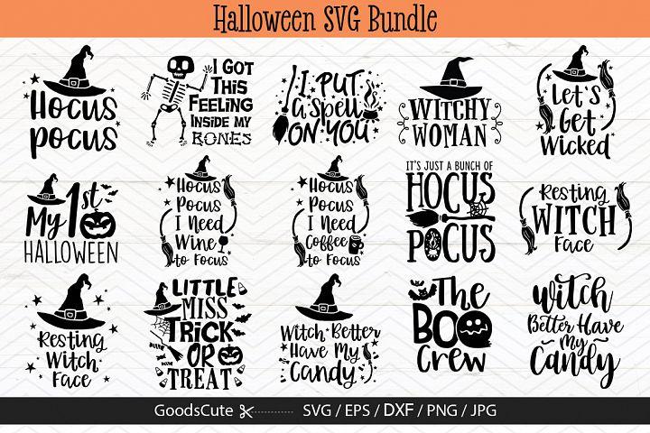 15 Halloween SVG Bundles - SVG DXF JPG PNG EPS