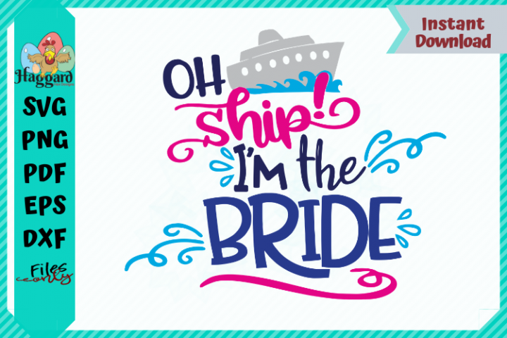Oh Ship Bride and Groom Bundle