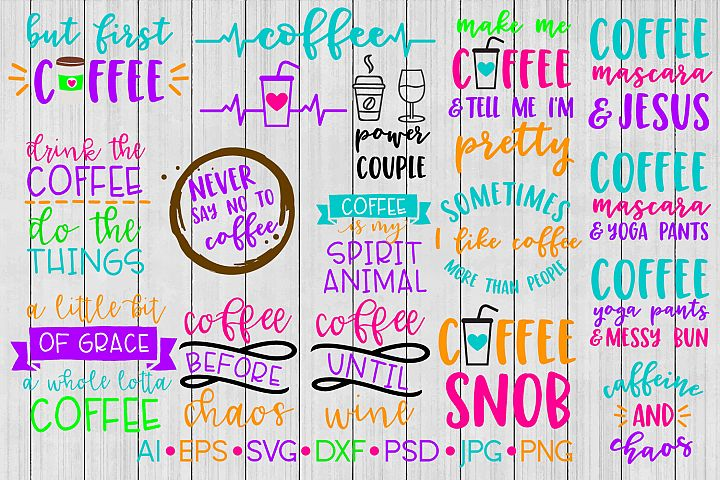 Coffee SVG Bundle, SVG Bundle, SVG File