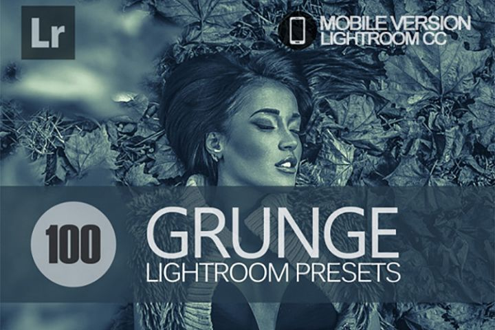 100 Grunge Lightroom Mobile bundle Presets