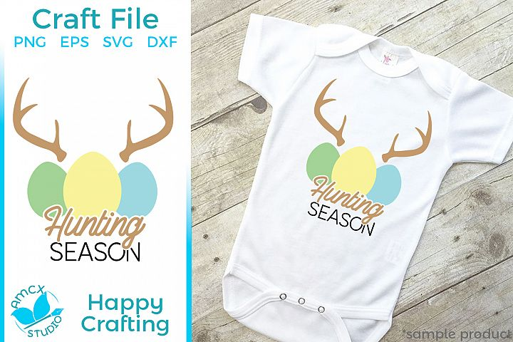 Hunting Season - A Cute Boys Easter SVG