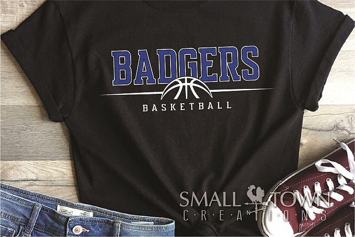 Badger, Badger Basketball Team, Sport, PRINT, CUT & DESIGN