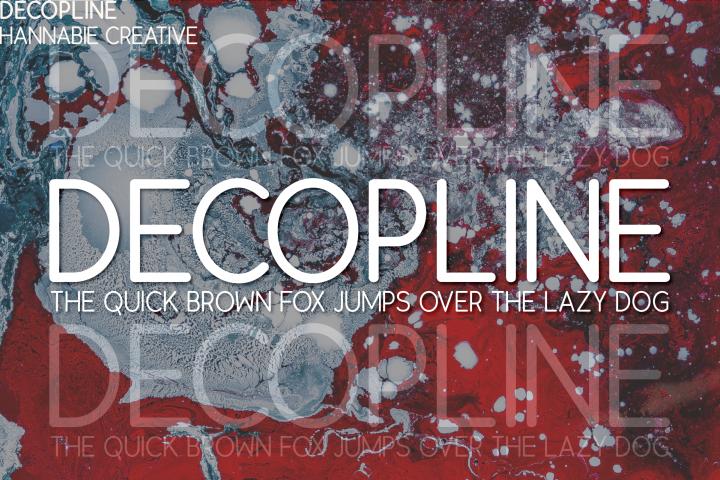 Decopline Sans Serif