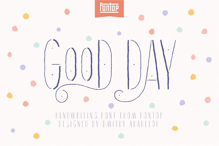 Good Day typeface
