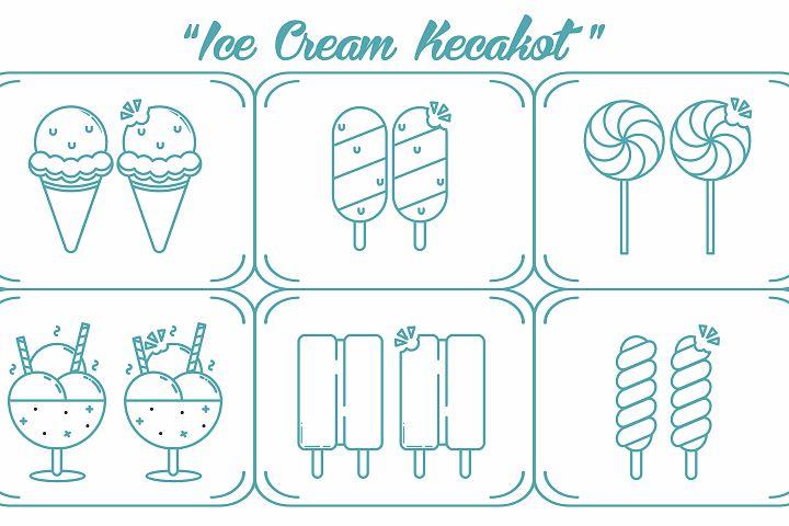 Ice Cream Kecakot Icon Pack