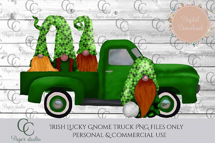 Lucky Irish gnome Truck - St Patricks edition