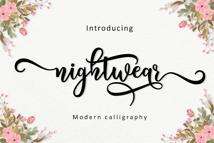 Nightwear Script
