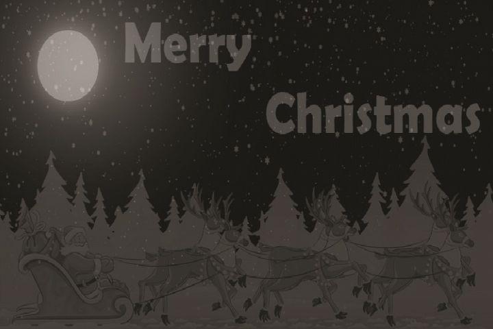 Gray Merry Christmas