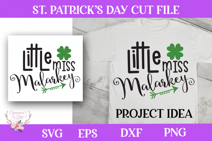 St. Patricks Day SVG - Little Miss Malarkey