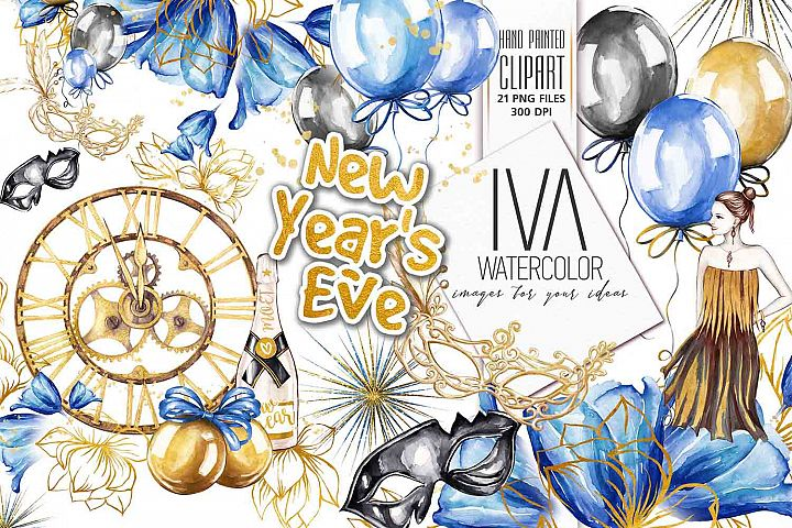 New Years Eve Clipart
