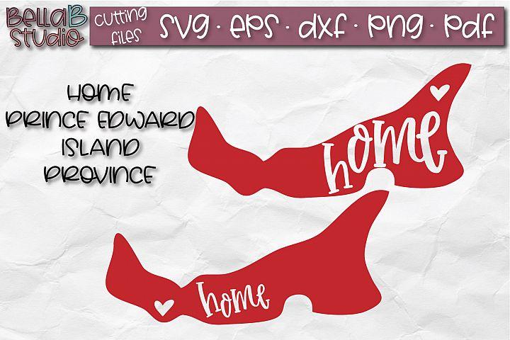 Prince Edward Island Home Province SVG, Canada SVG, Canadian