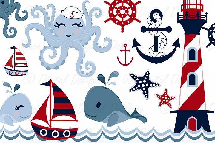 Cute Nautical Clip Art