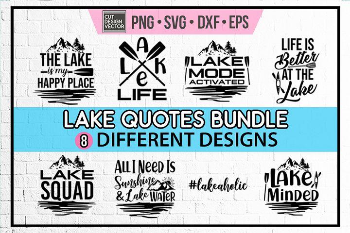 Lake SVG Bundle, Lake Shirt
