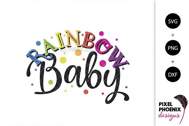 Rainbow Baby SVG