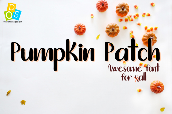 Pumpkin Patch Font