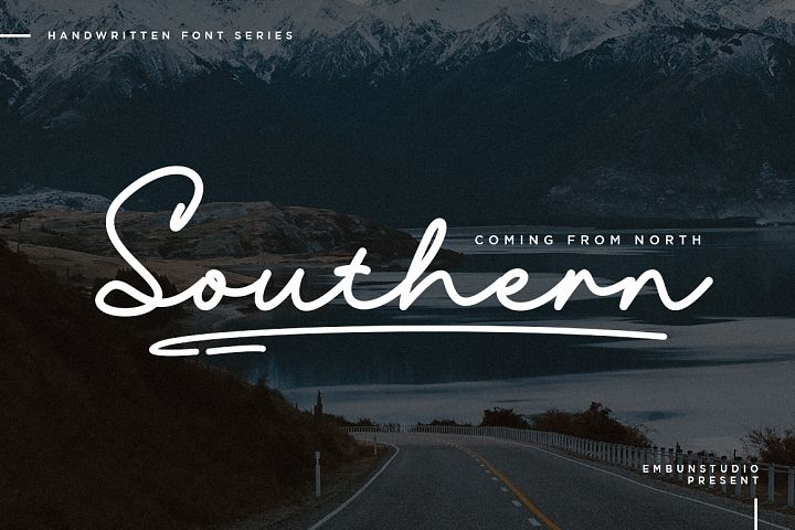 Southern Handwriting Font